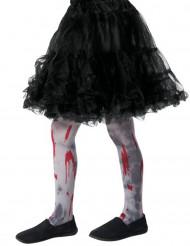 Blodiga zombiestrumpisar till Halloween för barn
