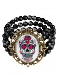 Armband till Dia de los muertos - Halloweentillbehör