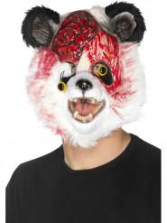 Pandazombie - Halloweenmask för vuxna
