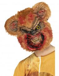 Zombie teddybjörnmask för vuxna - Halloween Masker