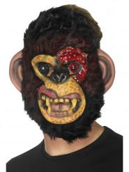 Zombieapa - Maskeradmask för vuxna