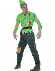 Zombien som tar från de rika - Halloweenkostym för vuxna