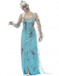 Zombiesnödrottningen - Halloweendräkt för vuxna