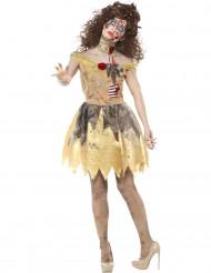 Zombie skönhet - Halloweenkostym för vuxna