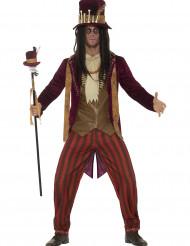 Maskeradkläder för vuxna Halloween Magi och skräck Voodoo Herr ... 7fa5ec5e0d820