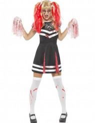 Djävulens cheerleader - Halloweenkostym för vuxna