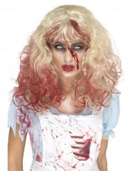 Blodig blondin - Peruk till Halloween