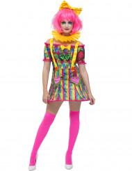 Clownen Patch - Maskeraddräkt för vuxna