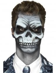 Skelettprotes - Halloweensminkning