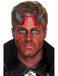 Svarta lös djävulvshorn - Halloween pynt