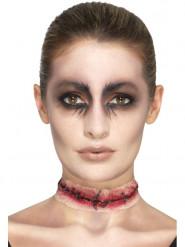 Halshuggen - Protes till Halloweensminkningen