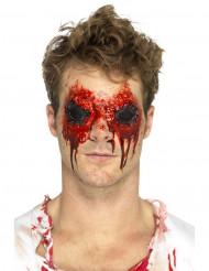 Urryckta ögonmask i latex - Halloween sminkning