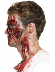 Fusksår - Halloweensminkning för vuxna