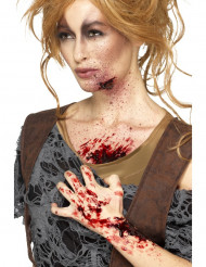 Effektfull Blodskorpa för damer - Halloween sminkning