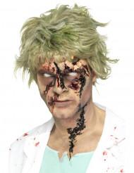 Zombiens sårskorppan - Halloweensminkning