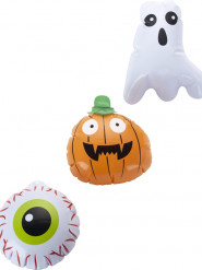 Miniballonger - Halloweendekor 15 cm