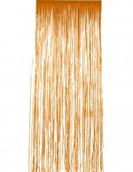 orangeglänsande gardin 244x91 cm