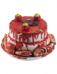 Halloweentårta med kroppsdelar