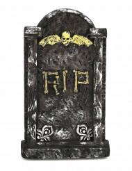 Ryslig gravsten - Dekoration till Halloween
