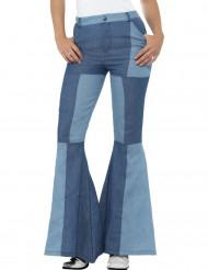 Patchwork jeans - Discobralla för vuxna