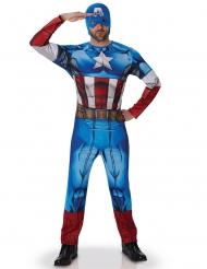 Kostym som Captain America Avengers™ vuxna