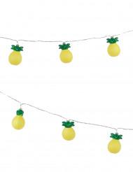 Ljusslinga med ananasfrukter 210 cm