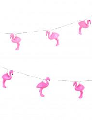 Lysande flamingogirlang 210 cm