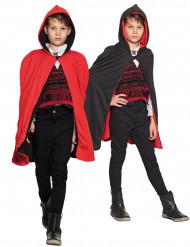 Djävul & Vampyr - Tvåsidig mantel för barn