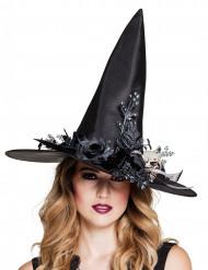 Smyckad häxhatt - Hatt till Halloween