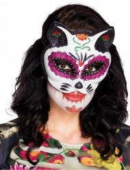 Kattmask i mexikansk stil