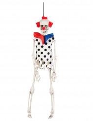 Clownskelett - Halloweendekor 40 cm