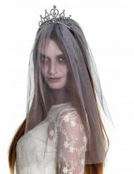Zombiens brudslöja - Halloweentillbehör för vuxna