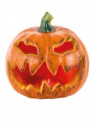 Lysande pumpa - Halloweendekor 16 cm