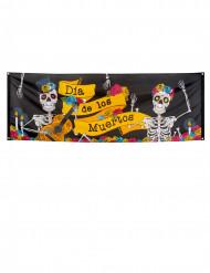 Dia de los Muertos - Banderoll till Halloween 74 x 200