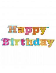 Happy Birthday slinga till födelsedagsfesten