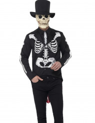 Chic skelett till De dödas dag - Halloweenkläder för vuxna