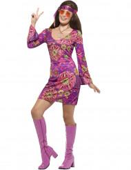 Lila Liljan hippiedräkt