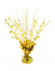 Guldig vikt för heliumballonger med stjärnor 250 gr