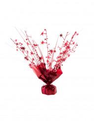 Röd ballongvikt med stjärnor 250 gr