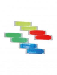 8 Små färgglada munspel