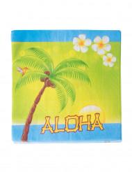 20 Aloha-servetter till fest med semesterkänsla