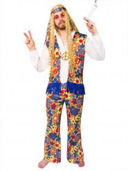Fredsblomman - Hippiedräkt för vuxna till maskeraden
