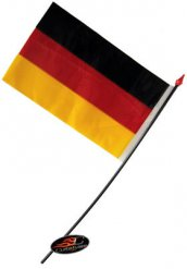 Tysklands flagga 14 x 9 cm