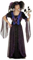 Gotisk vampyr maskeraddräkt för barn - Halloween Maskeraddräkt för barn