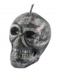 Ljus i from av metallisk dödskalle - Halloweenpynt