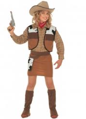 Cowgirl dräkt för barn till kalaset