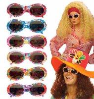 Hippieglasögon för vuxna med överraskningsmoment