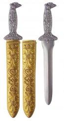 Silversvärd med fodral 41 cm