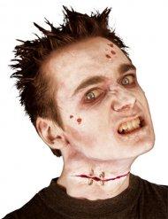 Fejk zombiesår - Halloween sminkning