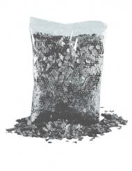 Mörkgrått konfetti till festen 200 g
